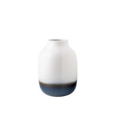 Villeroy & Boch Lave Home Nek vaas wit blauw groot