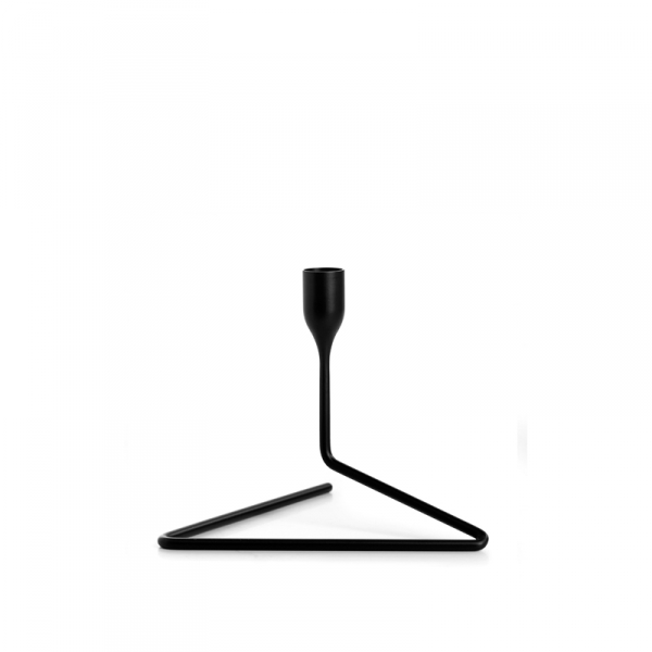 Kaarsenstandaard 14 cm zwart