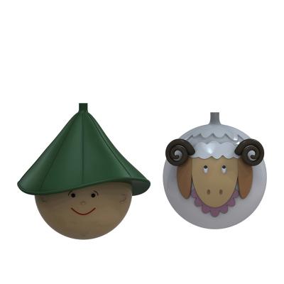 ALESSI Le Palle Presepe Kerstballenset, per 2