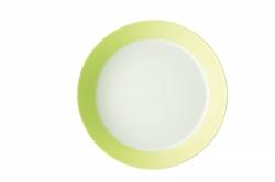 Bord diep 21 cm Groen