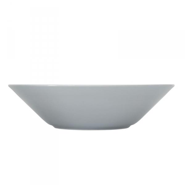 Bord diep 21 cm Parelgrijs