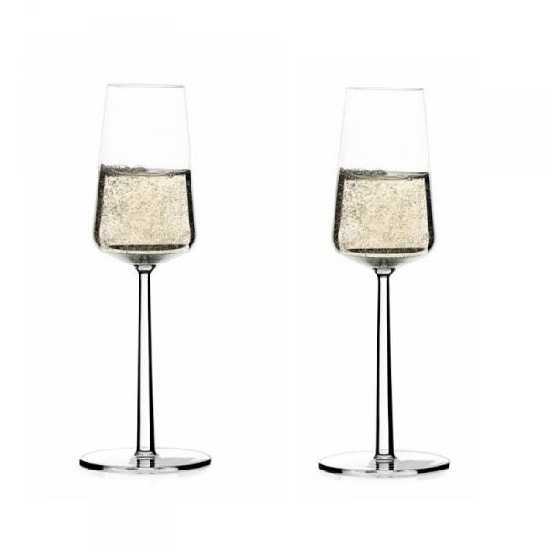Champagneglas 0,21 l, per 2