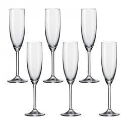 Champagneglas, per 6