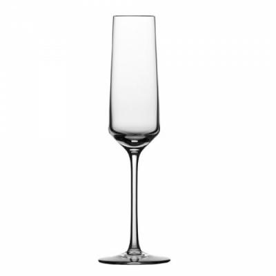 Champagneflžte met MP, geschenkset 2 glazen