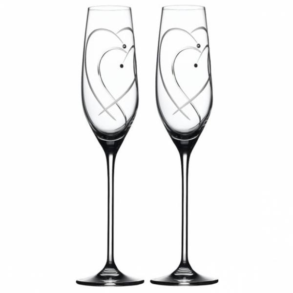 Champagneglas 0,16 l, per 2