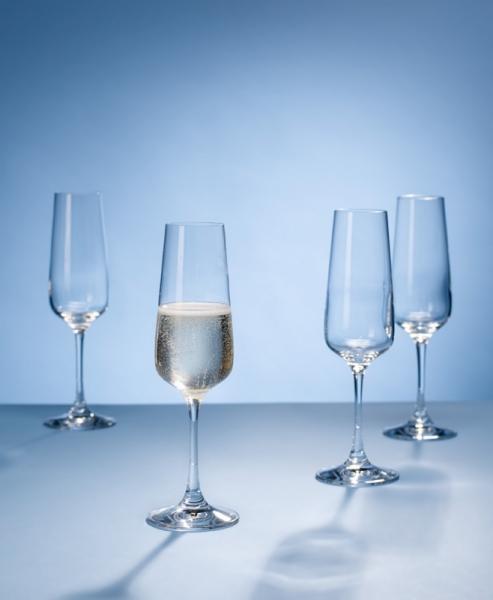 Champagneglas 0,25 l, per 4