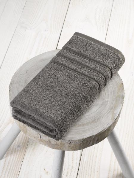 Douchelaken/Handdoek 70 x 140 cm Steeple Grey