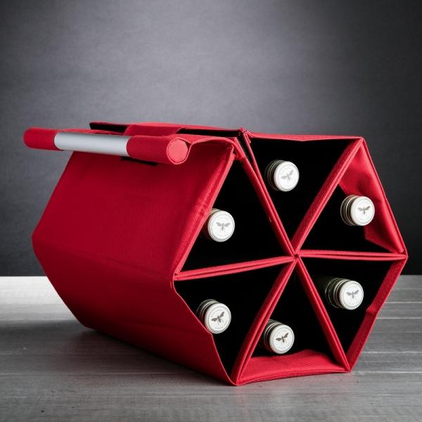 Flessentas / Wijnrek