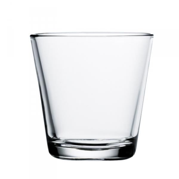 Waterglas 0,21 l Clear, per 2