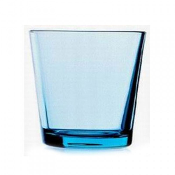 Waterglas 0,21 l lichtblauw, per 2