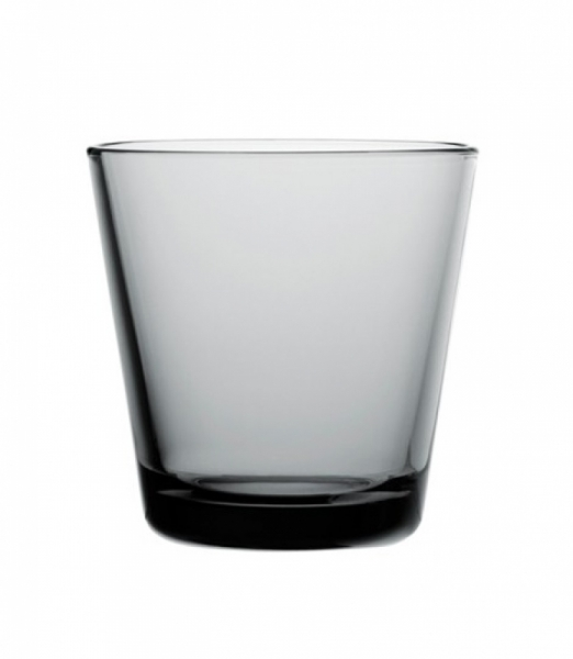 Waterglas 0,21 l Grey, per 2