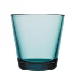 Waterglas 0,21 l Zeeblauw, per 2