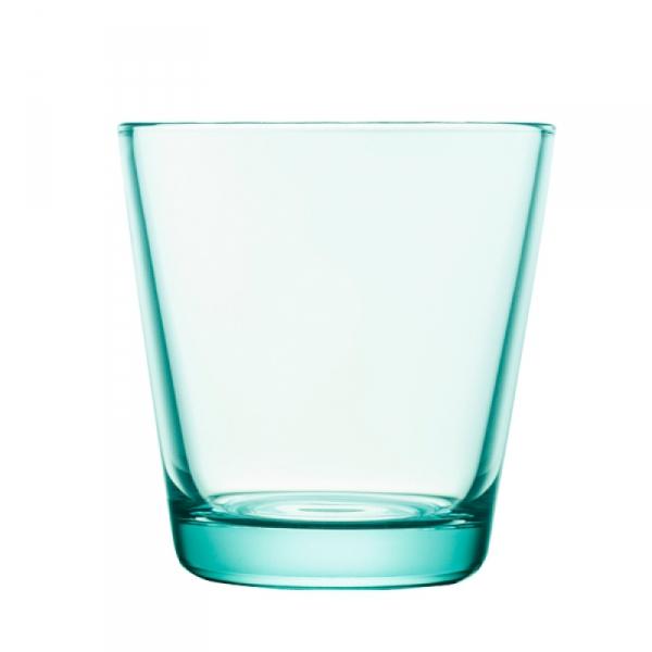 Waterglas 0,21 l watergroen, per 2
