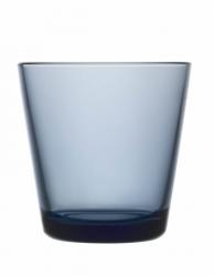 Waterglas 0,21 l regenblauw, per 2