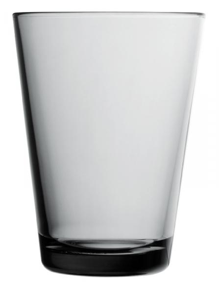 Waterglas 0,40 l Grey, per 2