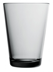 Waterglas 0,40 l Grey, per 2