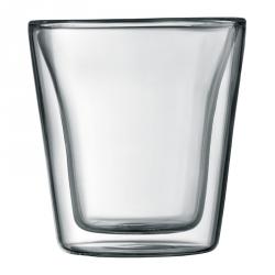 Glazen dubbelwandig, per 2
