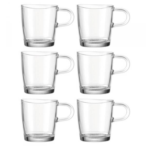 Koffieglas, per 6