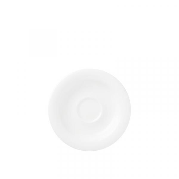 Koffieschotel 13,5 cm Wit