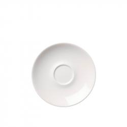 Koffieschotel 17 cm Wit