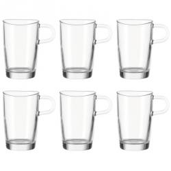 Latte Macchiato Glas, per 6