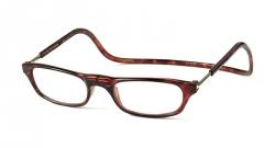 Leesbril bruin +2.0