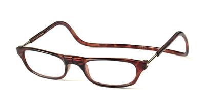 Clic Vision Leesbril bruin 2.0