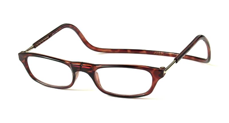 Leesbril bruin +2.5