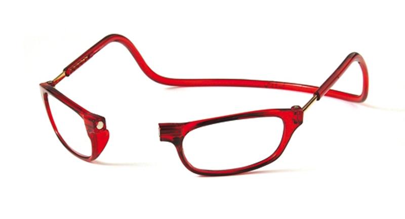 Leesbril rood +1.0