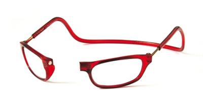 Clic Vision Leesbril rood 1.0