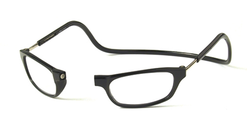 Leesbril zwart +2.5
