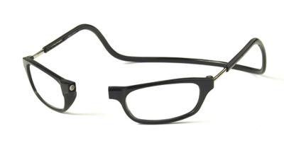 Clic Vision Leesbril zwart 3.0