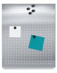 Magneetbord geperforeerd 50 x 60 cm