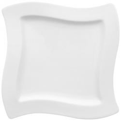 Ontbijtbord vierkant 24 cm