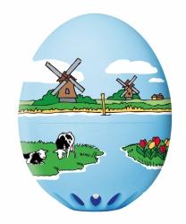 Eierwekker Hollands Glorie kunststof 5,5 cm
