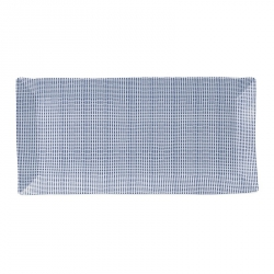 Serveerbord porselein 39 x 13 cm blauw