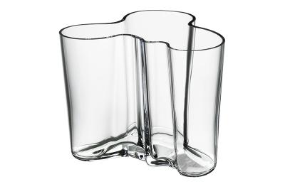 Iittala Alvar Aalto, Vaas 120mm helder