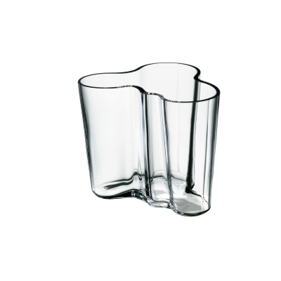 Iittala Alvar Aalto, Vaas 95mm helder