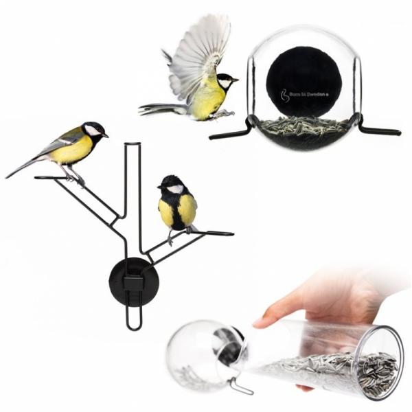 Vogelvoederset 3-delig