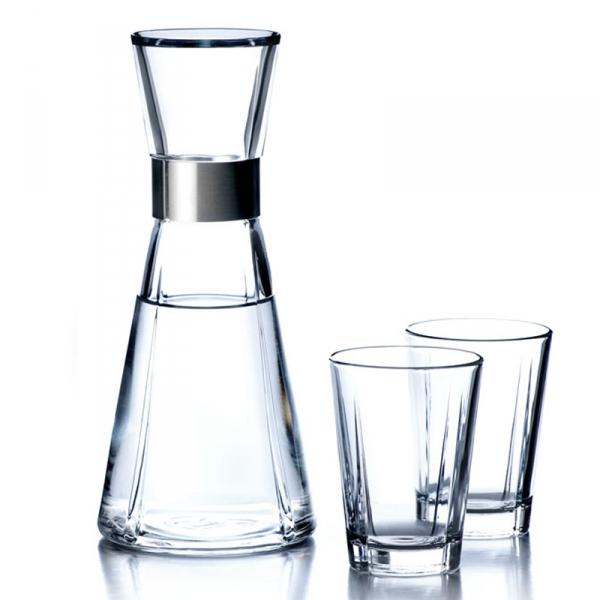 Waterkaraf + 2 glazen