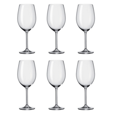 Leonardo Daily Wijnglas Bordeaux 370 ml, per 6