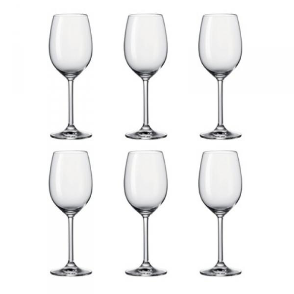 Wittewijnglas 0,37 l, per 6